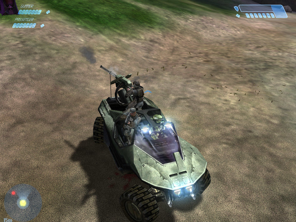 Halo: Combat Evolved Windows Check out my wheels man