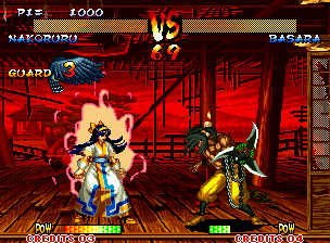 Samurai Shodown III: Blades of Blood Neo Geo Press A, B and C Buttons at the same time and the fighter charges its POW Meter, required for super moves.
