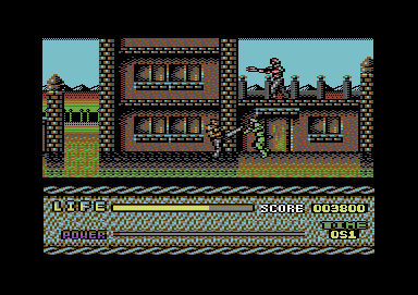 Last Battle Commodore 64 In the C64 version Aarzak can perform the same moves as in the Genesis version