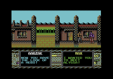 Last Battle Commodore 64 Max, apparently, has the look of a hero