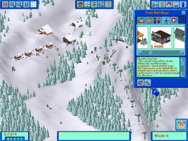 Ski Resort Tycoon Windows Building Rental Shop