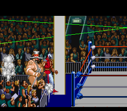 Saturday Night Slam Masters SNES Marching to the ring