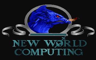 Might and Magic: World of Xeen DOS NWC Logo