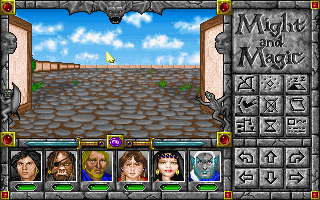 Might and Magic: World of Xeen DOS Starting...