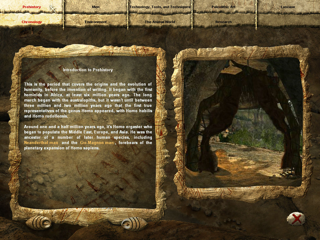 ECHO: Secrets of the Lost Cavern Windows The game's encyclopedia is quite informative.