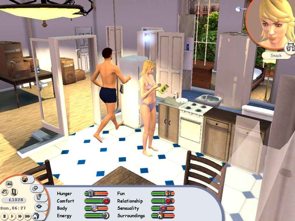 Singles: Flirt Up Your Life! Windows Getting a quick snack in the morning