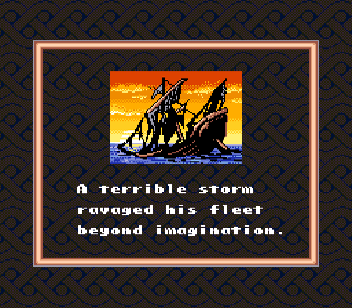 Uncharted Waters SNES LOST