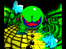 Mad Mix ZX Spectrum Title screen