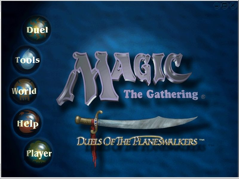 Magic: The Gathering - Duels of the Planeswalkers Windows Title Screen