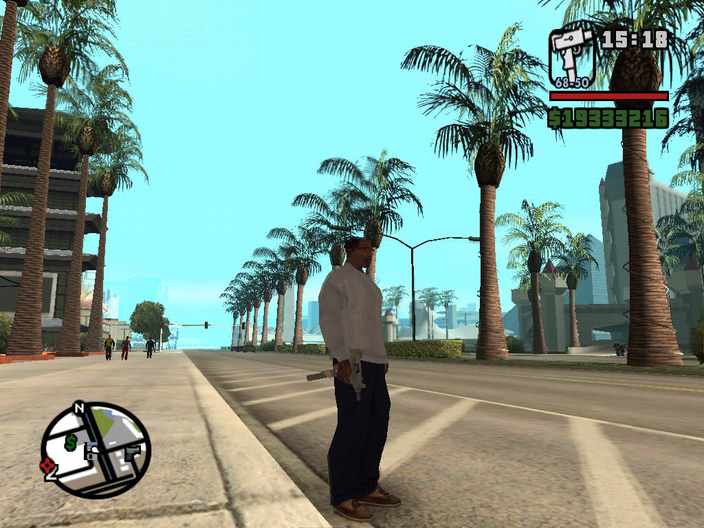 Grand Theft Auto: San Andreas Windows Las Venturas.
