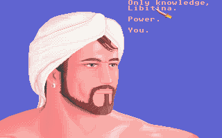 "Sinbad and the Throne of the Falcon Atari ST Good job ""you"" is one of the answers...."