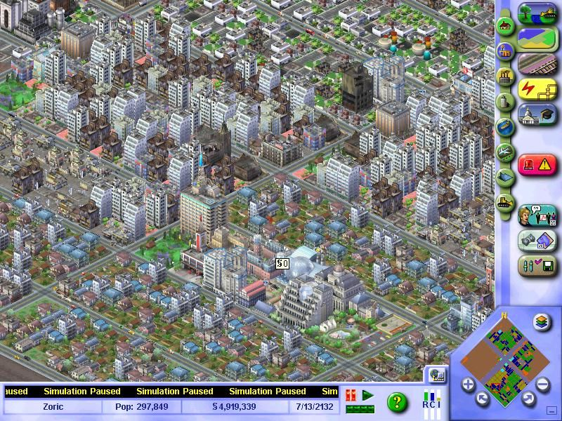 SimCity 3000 Unlimited Windows A City