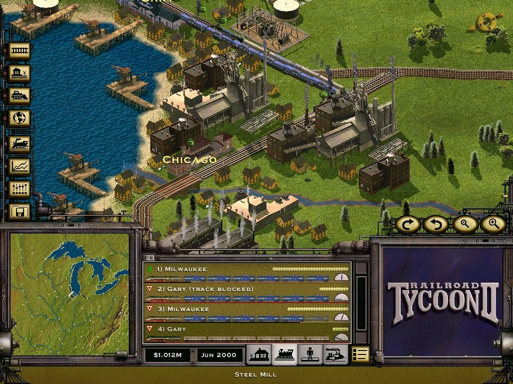 Railroad Tycoon II (Gold Edition) Windows A City