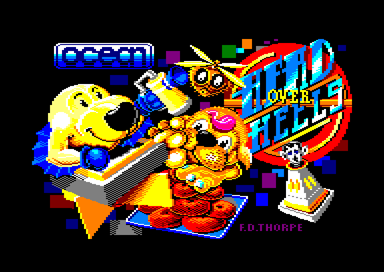 Head Over Heels Amstrad CPC Title