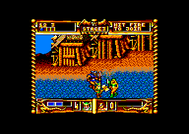Golden Axe Amstrad CPC Stage 3