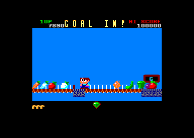 Rainbow Islands Amstrad CPC Reached the goal