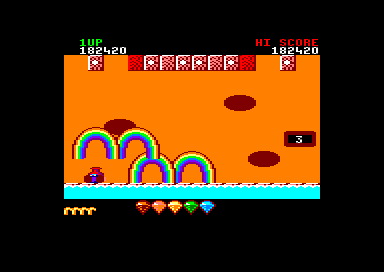 Rainbow Islands Amstrad CPC Dead...