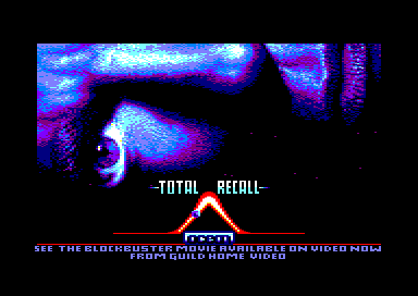 Total Recall Amstrad CPC Title