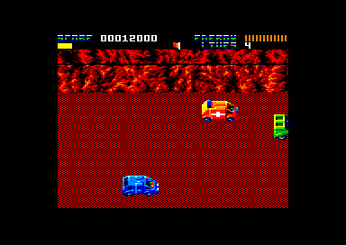 Total Recall Amstrad CPC Driving on the surface of Mars