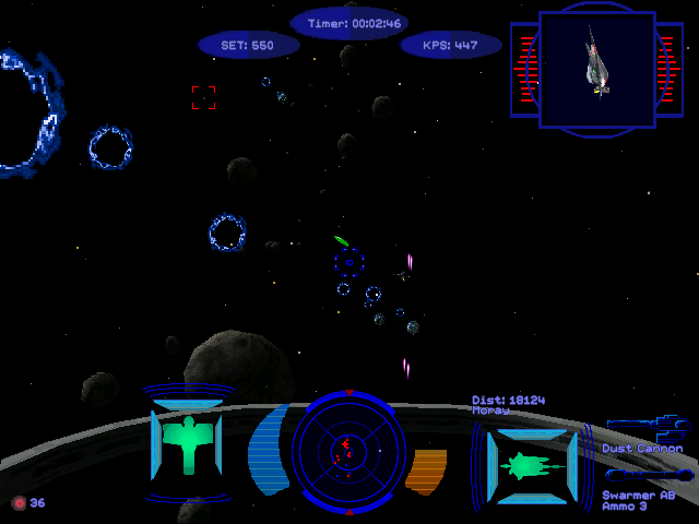 Wing Commander: Secret Ops Windows The heat of battle.