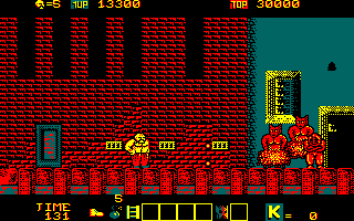 Karnov Amstrad CPC Hmm, demons block the path?