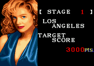 Side Pocket Genesis To complete the game, you must reach the target score of each city (starting by Los Angeles).