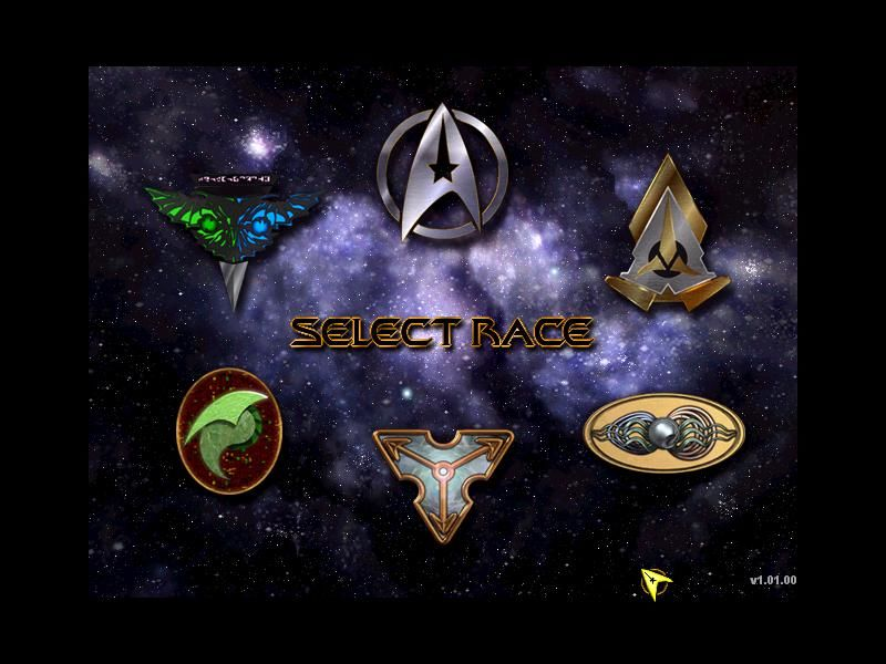Star Trek: Starfleet Command Windows 6 Races