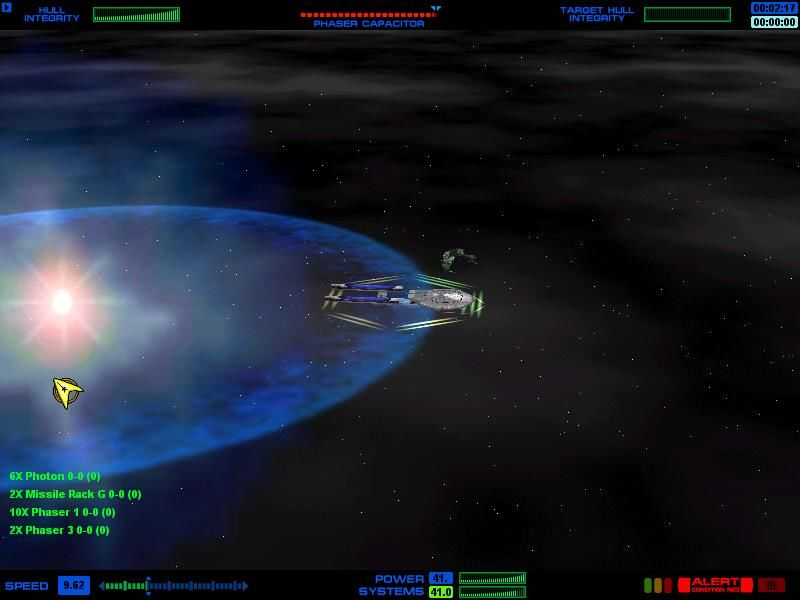 Star Trek: Starfleet Command Windows Nice explosion
