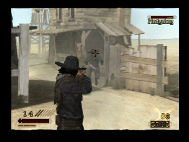 Red Dead Revolver PlayStation 2 Zooming in for the kill.