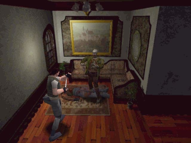 Resident Evil Windows Encounter with very first zombie