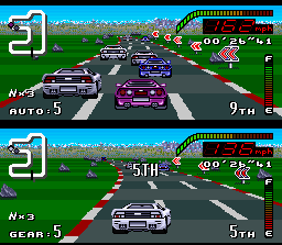 Top Gear SNES Stonehenge, England: now, some drivers are disputing the best (and decisive) race position.
