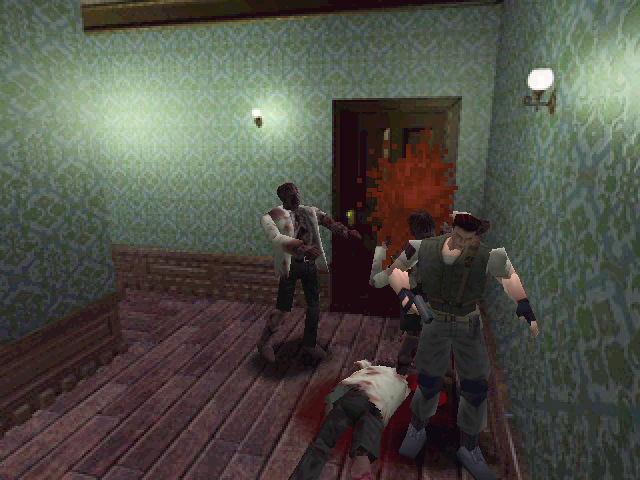 Resident Evil Windows Living dead is hungry all the time