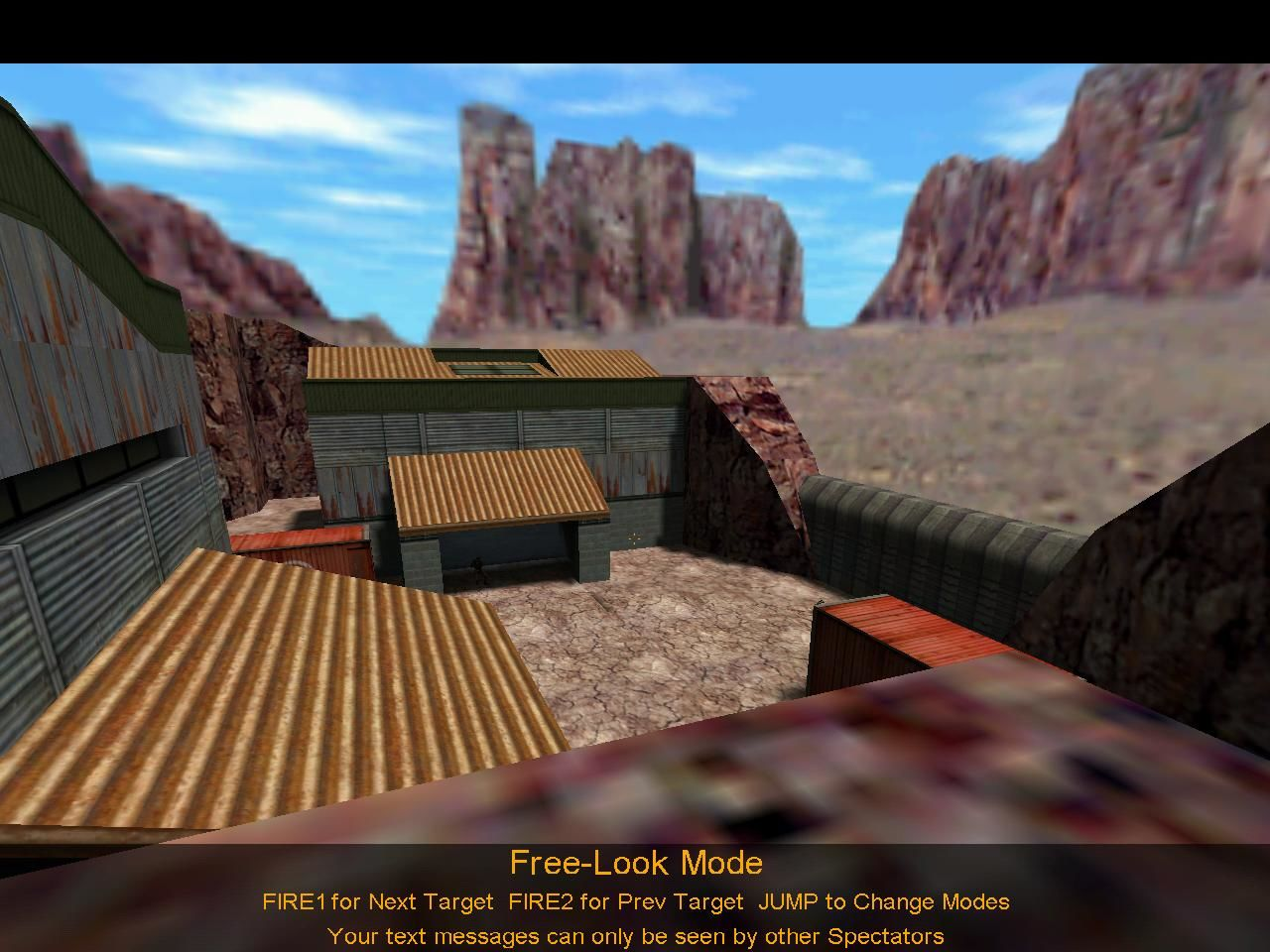 Half-Life: Counter-Strike Windows Free-Look Mode