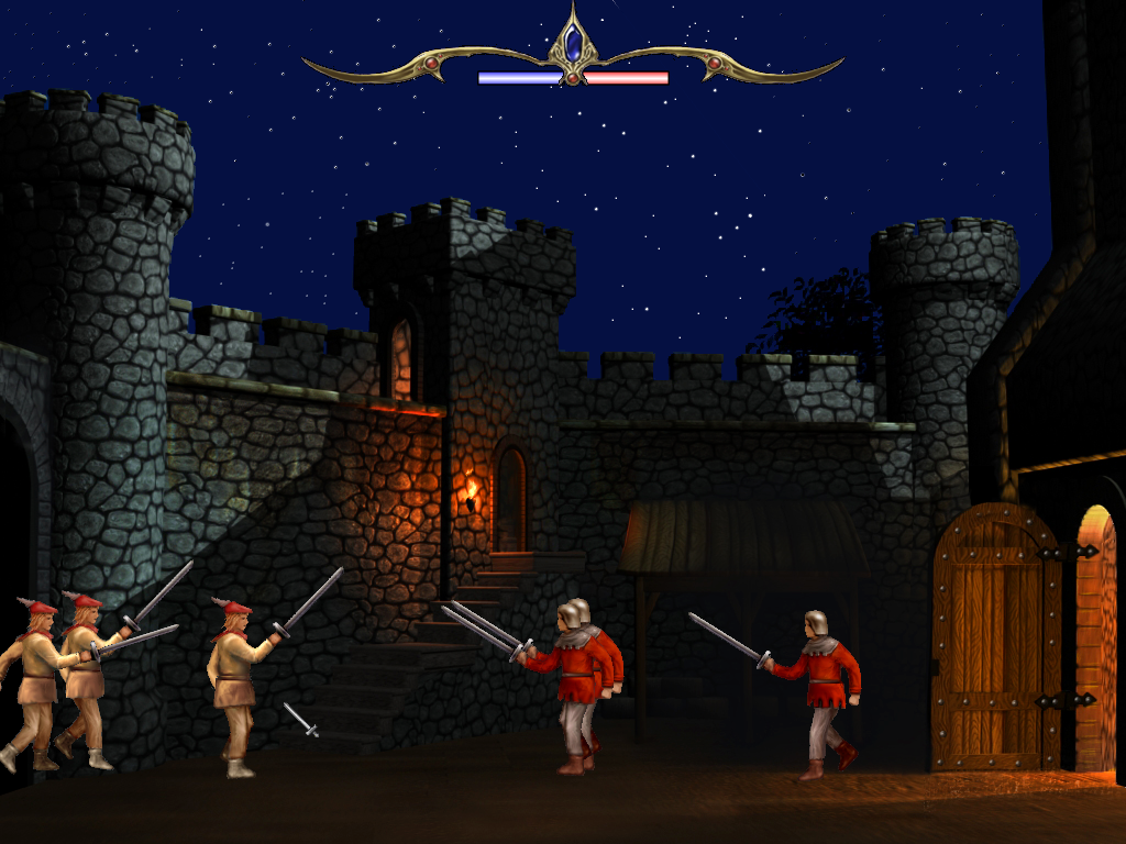 Defender of the Crown: Digitally Remastered Collector's Edition Windows Battling Norman defenders