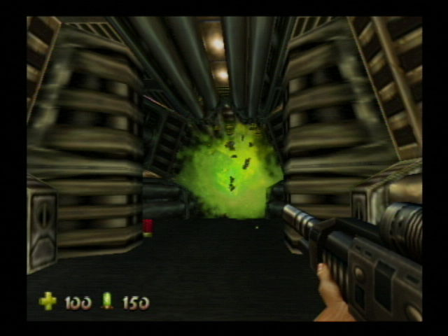 Turok 2: Seeds of Evil Nintendo 64 I think that hit you.