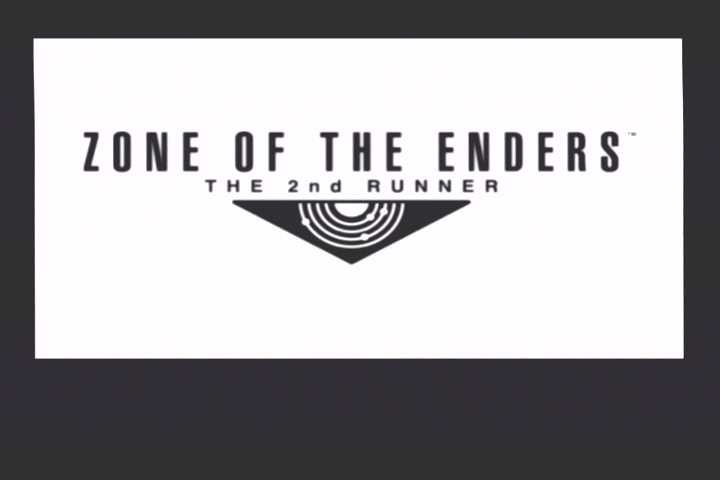 Zone of the Enders: The 2nd Runner PlayStation 2 Title Screen