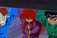Yu Yu Hakusho: Ghost Files - Spirit Detective Game Boy Advance These screenshots from the anime are used to move the plot forward.