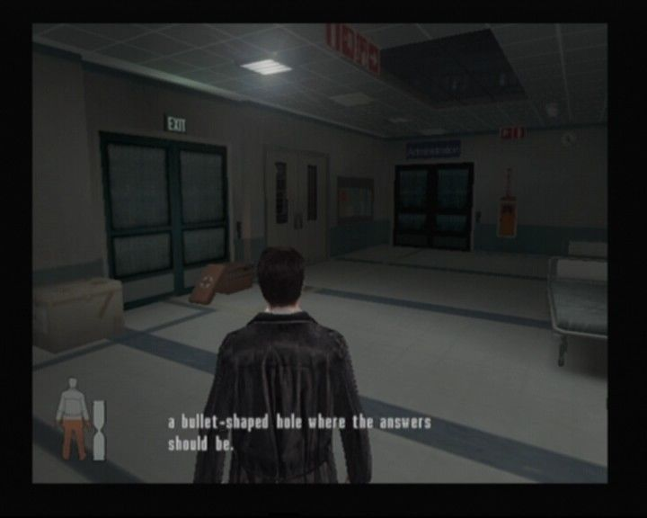 Max Payne 2: The Fall of Max Payne PlayStation 2 When your health is low, medical kits like the one in front of you may prove most useful