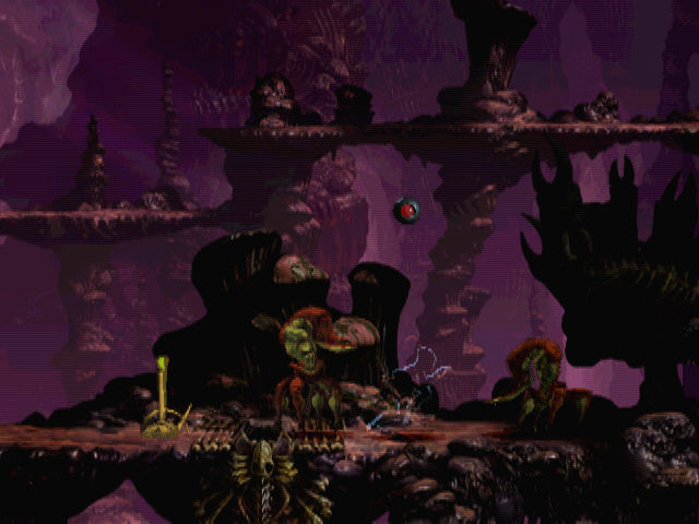 Oddworld: Abe's Exoddus Windows Invisible passing two Scrabs