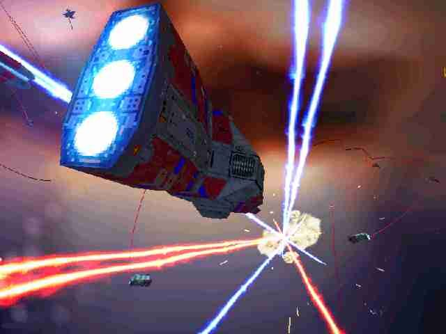 Homeworld: Game of the Year Edition Windows Blasting