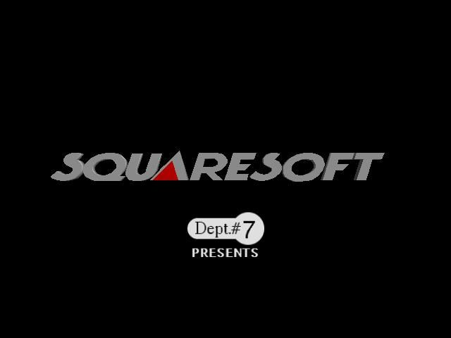 Front Mission Alternative PlayStation Squaresoft Logo