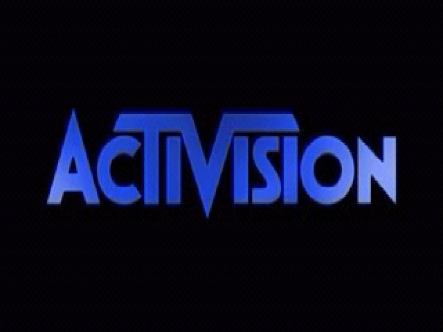 Asteroids Windows Activision Logo.