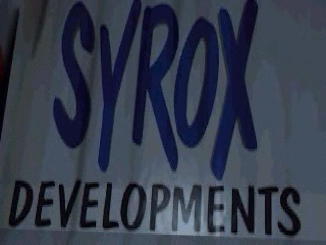 Asteroids Windows Syrox Logo.
