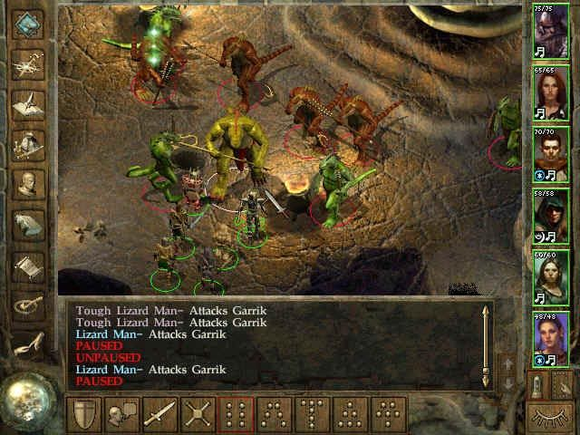Icewind Dale Windows a battle against menacing foes