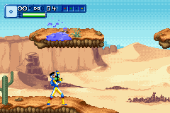 Alienators: Evolution Continues Game Boy Advance Shoot (goo) some enemies.