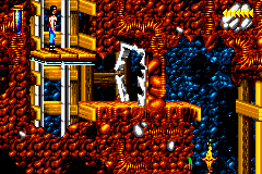 Blackthorne Game Boy Advance Exit each level by an elevator.