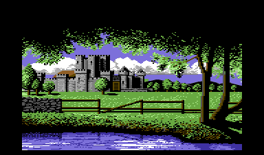 Defender of the Crown Commodore 64 A Norman castle