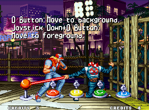 "Real Bout Fatal Fury Neo Geo In ""How To Play"" screen, the players will learn some basic commands."