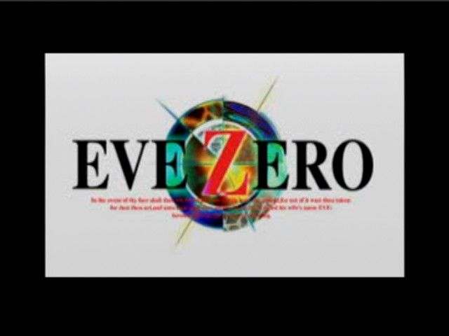 EVE Zero: Ark of the Matter PlayStation Main Title