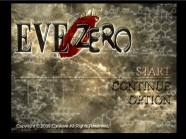 EVE Zero: Ark of the Matter PlayStation Main Menu